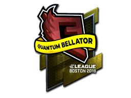 Sticker | Quantum Bellator Fire (Foil) | Boston 2018
