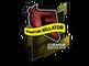 Sticker   Quantum Bellator Fire (Foil)   Boston 2018