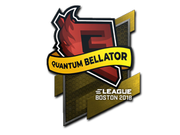 Sticker | Quantum Bellator Fire | Boston 2018
