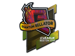 Sticker | Quantum Bellator Fire (Holo) | Boston 2018