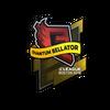 Sticker   Quantum Bellator Fire   Boston 2018