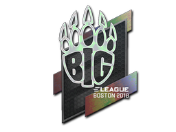 Sticker | BIG (Holo) | Boston 2018