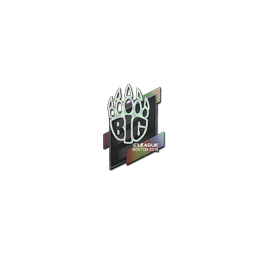 Sticker | BIG (Holo) | Boston 2018