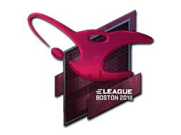 Sticker | mousesports (Foil) | Boston 2018