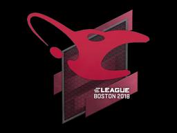 Sticker | mousesports | Boston 2018