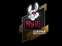 Наклейка | Misfits Gaming (металлическая) | Бостон 2018