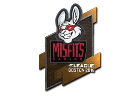 Sticker | Misfits Gaming | Boston 2018