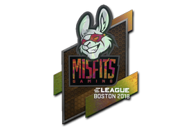 Sticker | Misfits Gaming (Holo) | Boston 2018