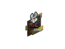 Skin Sticker | Misfits Gaming (Holo) | Boston 2018