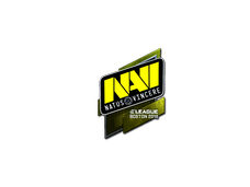 Skin Sticker | Natus Vincere (Foil) | Boston 2018