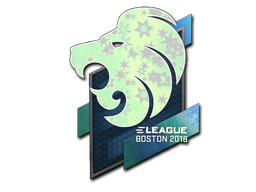 Sticker | North (Holo) | Boston 2018