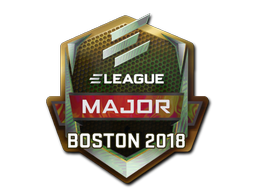 Sticker | ELEAGUE (Holo) | Boston 2018