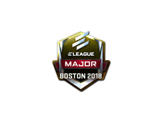 Skin Sticker | ELEAGUE (Foil) | Boston 2018