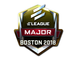 Sticker | ELEAGUE (Foil) | Boston 2018