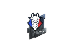 Skin Sticker | G2 Esports (Foil) | Boston 2018