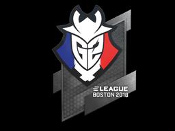 Наклейка | G2 Esports | Бостон 2018