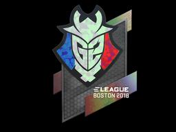 Sticker | G2 Esports (Holo) | Boston 2018