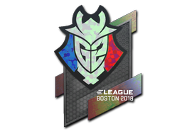 Sticker | G2 Esports (Holo) | Boston 2018