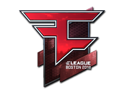 Sticker | FaZe Clan (Foil) | Boston 2018