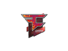 Skin Sticker | FaZe Clan (Holo) | Boston 2018