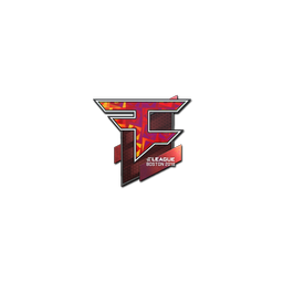 Sticker | FaZe Clan (Holo) | Boston 2018