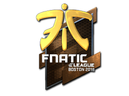 Sticker | Fnatic (Foil) | Boston 2018