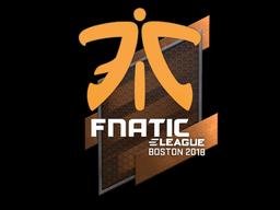 Sticker | Fnatic | Boston 2018