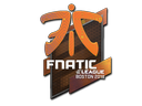 Sticker | Fnatic (Holo) | Boston 2018