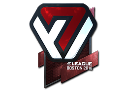 Sticker | Avangar (Foil) | Boston 2018