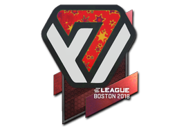 Sticker | Avangar (Holo) | Boston 2018