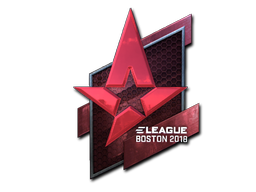 Sticker | Astralis (Foil) | Boston 2018