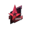 Sticker | Astralis <br>(Foil) | Boston 2018