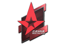 Sticker | Astralis | Boston 2018
