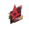 Sticker | Astralis <br>(Holo) | Boston 2018