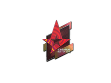 Skin Sticker | Astralis (Holo) | Boston 2018