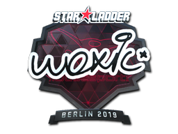Sticker | woxic (Foil) | Berlin 2019