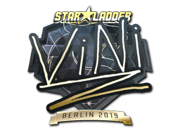 Sticker | VINI (Gold) | Berlin 2019