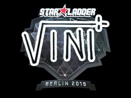 Sticker | VINI (Foil) | Berlin 2019