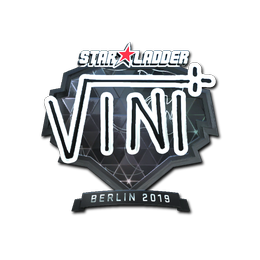VINI (Foil)   Berlin 2019
