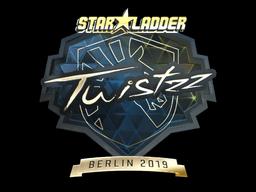 Sticker | Twistzz (Gold) | Berlin 2019
