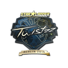 Sticker | Twistzz (Gold) | Berlin 2019