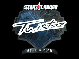 Наклейка | Twistzz (металлическая) | Берлин 2019
