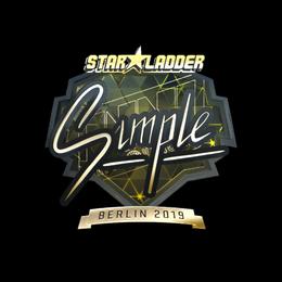 s1mple (Gold) | Berlin 2019