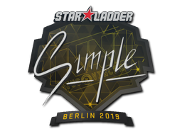Sticker | s1mple | Berlin 2019