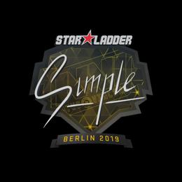 s1mple | Berlin 2019
