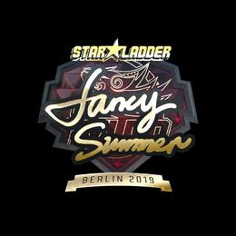 Summer (Gold)   Berlin 2019