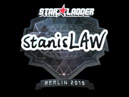 Sticker | stanislaw (Foil) | Berlin 2019