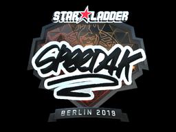 Sticker | speed4k (Foil) | Berlin 2019