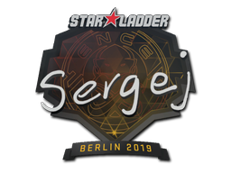 Sticker | sergej | Berlin 2019