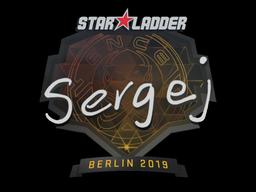 Наклейка | sergej | Берлин 2019